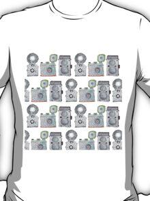 Camera Pattern T-Shirt