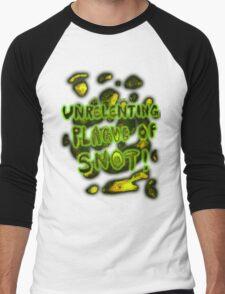'Unrelenting Plague of Snot' Men's Baseball ¾ T-Shirt