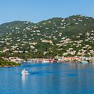 Ferry in St Thomas by dbvirago