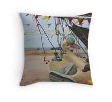 Animals - Vintage Carousel (2/3) Throw Pillow