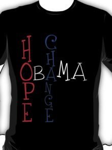 OBAMA - Change Hope T-Shirt