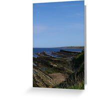 North Sea View Greeting Card