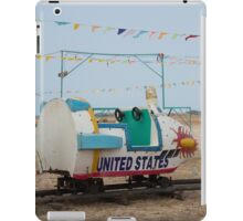 Vintage carousel -(3/3) Usa Spaceship iPad Case/Skin