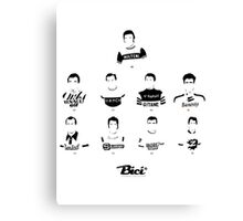 Top 9 - Bici* Legendz Collection Canvas Print
