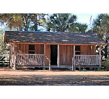 Cabin Photographic Print