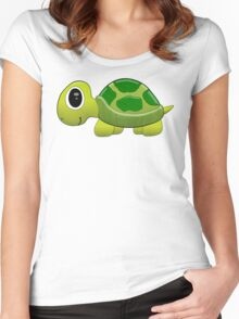 Turtle Tee Women's Fitted Scoop T-Shirt