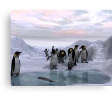 Antarctic Dawn Canvas Print