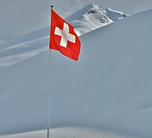 Flag of Switzerland by itchingink