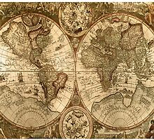 Old World Map  by Zulgixx