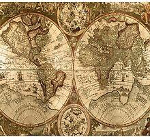 Old World Map  by Zulgixx