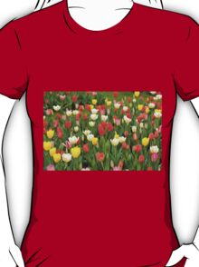 tulips mix grow in garden T-Shirt