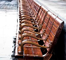 Forbidden City Long Bench by phil decocco