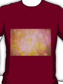 Subtle pink heather macro T-Shirt