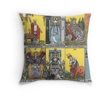 Major Arcana  Throw Pillow