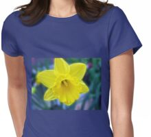 Vibrant Golden Daffodil Womens Fitted T-Shirt
