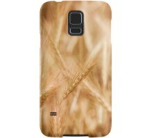 Golden ripe cereal ears grow Samsung Galaxy Case/Skin