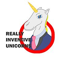 Really Inventive Unicorns Photographic Print