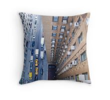 New York Vertigo Throw Pillow
