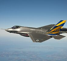 F-35 Navy Aircraft Photograph by tshirtdesign