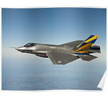 F-35 Navy Aircraft Photograph Poster