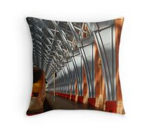 St Pancras Eurostar Throw Pillow