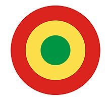 Congolese Air Force - Roundel Photographic Print