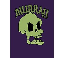 Murray! The laughing skull Photographic Print