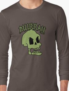 Murray! The laughing skull Long Sleeve T-Shirt