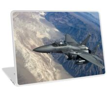 Military Fighter Jet Photograph Laptop Skin