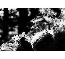 Smoke scroll  Photographic Print
