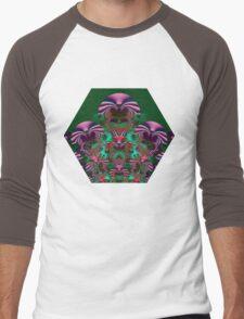 Butterfly Angel Men's Baseball ¾ T-Shirt