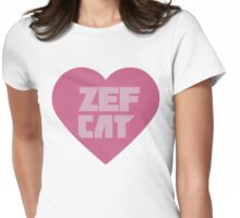 Zef Cat Womens Fitted T-Shirt