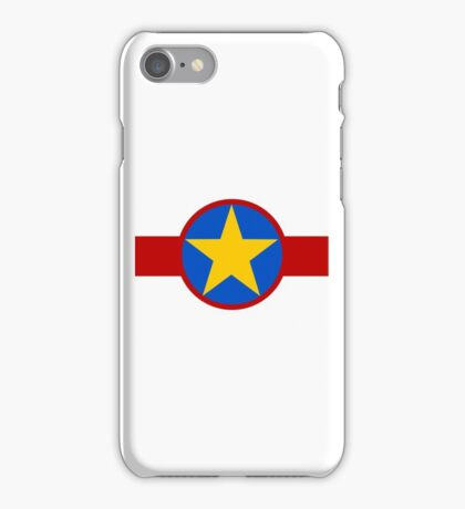 Democratic Republic of the Congo Air Force - Roundel iPhone Case/Skin