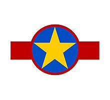 Democratic Republic of the Congo Air Force - Roundel Photographic Print