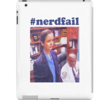 #nerdfail iPad Case/Skin