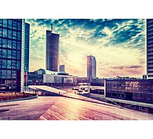 Business sunrise Photographic Print