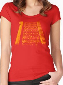 Tower Block. Women's Fitted Scoop T-Shirt