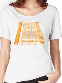 Tower Block. Women's Relaxed Fit T-Shirt
