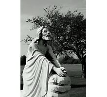 Jesus Praying Photographic Print