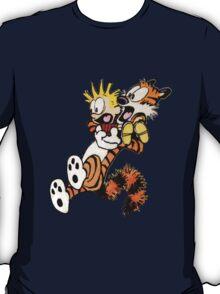 calvin and hobbes shock T-Shirt