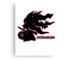 Pokémon Dovahkiin - Megamawile Canvas Print