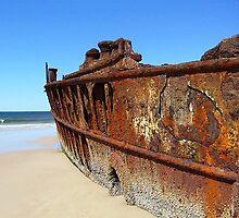 Your captain, my captain...Maheno's Shipwreck by oneyeon