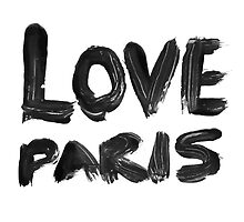 LOVE PARIS by Julia Aufschnaiter
