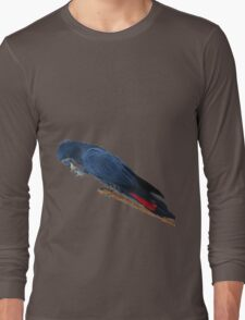 red Tailed Black Cockatoo Long Sleeve T-Shirt