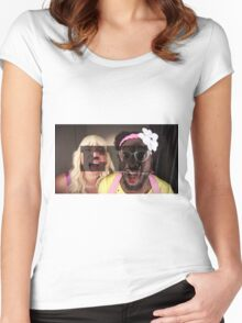 Jimmy Fallon/Will.i.am EW Women's Fitted Scoop T-Shirt