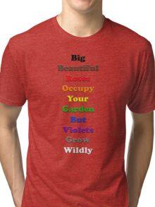 Resistor Code 18 - Big Beautiful Roses... Tri-blend T-Shirt