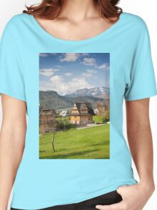 Highlands style house  Women's Relaxed Fit T-Shirt