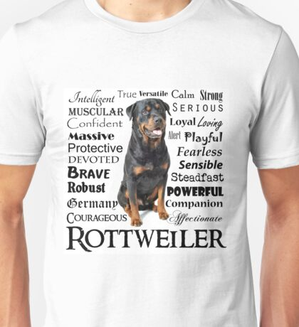 Rottie Traits Unisex T-Shirt