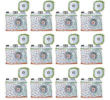 Camera Pattern 2.2 Photographic Print
