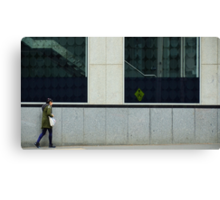Pedestrians Please Levitate Canvas Print